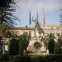 Monument to war veterans