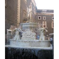 The Fountain of dell'Amenano in Piazza Duomo