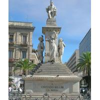 Stesichorus Square and Bellini's Monument (Piazza Stesicoro)