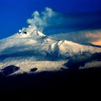 Mount Etna viewed from the SW.