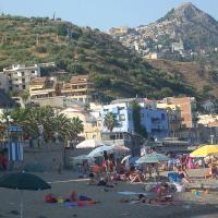 A view of San Giovanni, one of Giardini Naxos' beaches