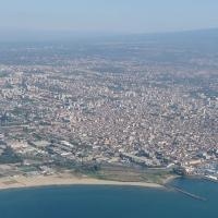 Panoramic view of Catania