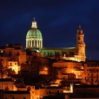 Ragusa Ibla by night