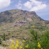 The Madonie mountains: Monte S.Salvatore