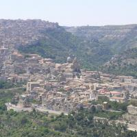 Ragusa Ibla panoramic view