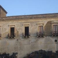 Constructed upon a small hill formed by lava rock, is Schisò Castle