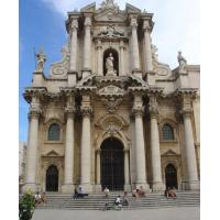 The Cathedral of Syracuse.