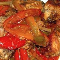 Turkey Breast Roast with Peppers