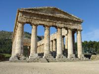 The Doric temple of Segesta.