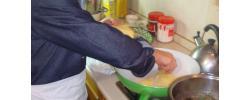 Caciocavallo Ragusano Fritto ( Fried Ragusan Caciocavallo )