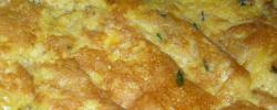 Frittata di zucchine e mozzarella,Omelette with Zucchine & Mozzarella,